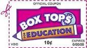 Box Tops Contest Sept. 21-24th
