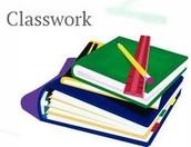 Ms. Barton's Classwork Requirements