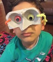Eggcarton Mask