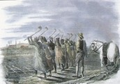 2. Describe the political effects of the slave trade.