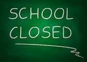 NO SCHOOL MONDAY!