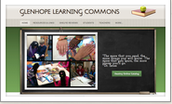 Glenhope Learning Commons Website