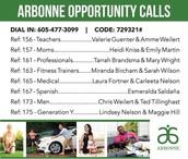 List of Calls