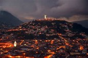 La vida noctura en Quito, Ecuador