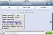 Instant messaging spam
