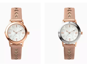 Icon Convertible Watch- Rose Gold