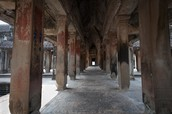 The Halls of the Angkor Wat