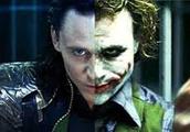 Loki looking like the joker