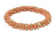 Vintage Twist Coral NOW $15