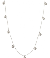 Demi Layering Necklace Silver