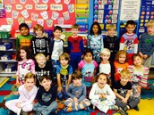 Pajama Day! We Filled Our Third Bucket!