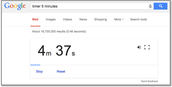 Dec 23: Google Timer