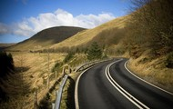 A44 from Aberystwyth to Llangurig