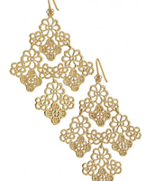Chantilly Lace Earrings - SOLD