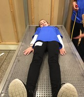 How would you like to lie on a bed of nails?