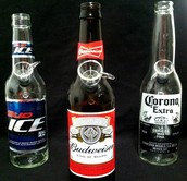 BEER BOTTLE WATERPIPES!