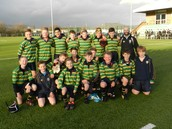 Rugby Boys Push to the End