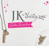 JK by Thirty-One Incentive Earners
