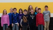 5th and 6th grade Math Meet team