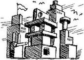 Second Grade 3D Cityscape