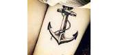 Morgan Has a Tattoo!