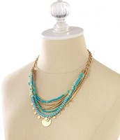 Isa Disc Necklace ($60)