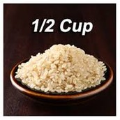 1/2 Cup of Rice
