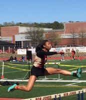 HCS track teams in action at Saturday's meet.  Way to go HCS students!