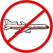 NO books on planes