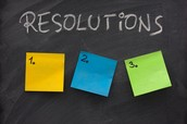 Word of the Week - RESOLUTIONS