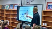 PBL 8 Team utilized the board for our Entry Event-Community Speaker!