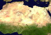 Location of the Sahara Desert. (Absolute and Relative)