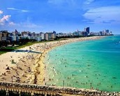 Una playa en Florida