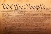The new country's statement, the Declaration of Independence