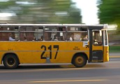 The bus is fast