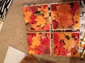 Tile tea coasters