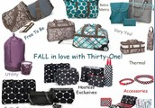 Please join me to see all the new products Thirty-One offers for Fall!