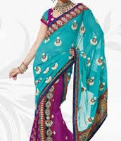 Peacock Sari