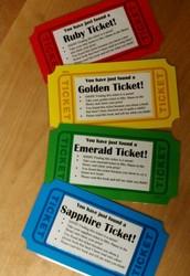 Golden Ticket Found at Sadler Elementary!