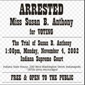 Susan's arrest: