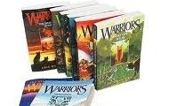 Multiple books in the Warrior series