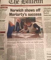 Moriarty in the News!