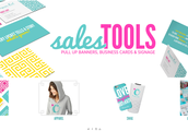 New Website for O2 Swag + Sales Tools