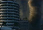 Tornado Destroying Buildings