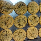 galletas suaves con chispas