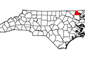 Hertford´s location and involvement in NC.
