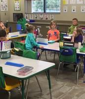 First Grade Seat Work