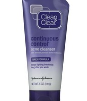 Apply a acne cleanser to your face for twice a day