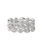 Stackable Deco Rings- Size 7