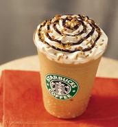 Starbucks ice.